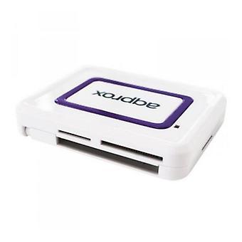 Externe kaartlezer approx! APPCRDNIW USB 2.0 DNI (identiteitskaart) wit