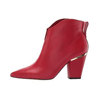 1. estado Womens 1S-CORBEN couro apontou Toe tornozelo moda botas