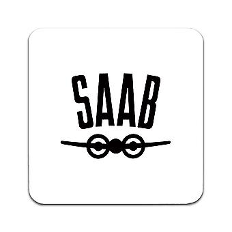 2 ST SAAB Logo Before 1969 Coasters