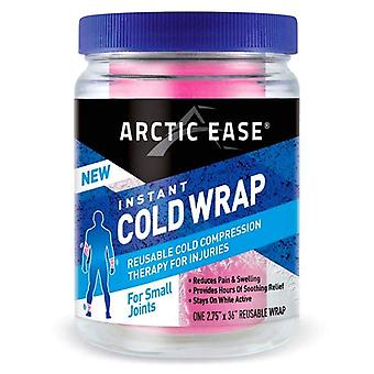 Arctic ease instant cold wrap, for small joints, pink, 1 ea