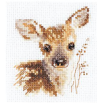 Alisa Cross Stitch Kit - Fawn