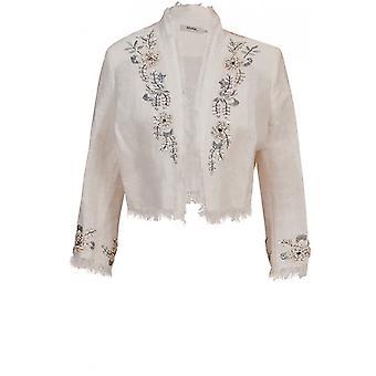Myrine Antwerp Woven Beaded Detail Jacket