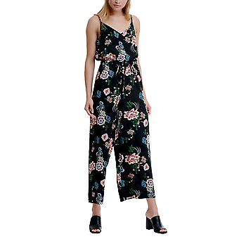 Funky Buddha Women's Playsuit/Jumpsuit In Floral Print