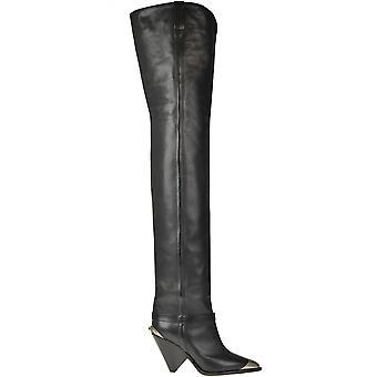 Isabel Marant Ezgl287032 Women's Black Leather Boots