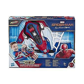 Marvel Avengers Spiderman Nerf Webshots Spiderbolt Blaster