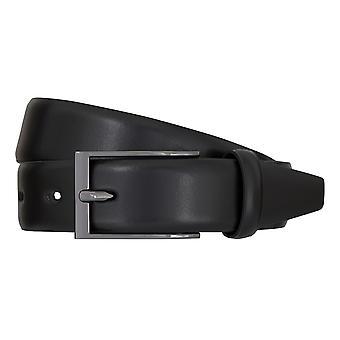 Ceintures de ceinture ceintures hommes LLOYD hommes cuir ceinture noire 7079