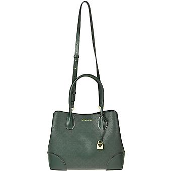 Michael Por Michael Kors Ezgl001187 Mujeres's Green Leather Tote