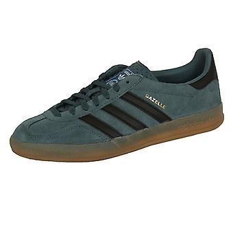 Adidas gazelle indoor men's legacy blue trainers