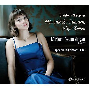 C. Graupner - Christoph Graupner: Himmlische Stunden, Seelige Zeiten [CD] USA import