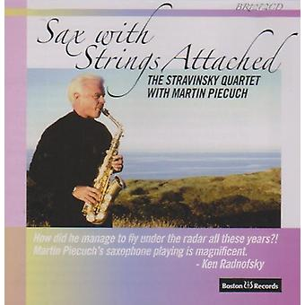 Sax With Strings Attached [CD] USA import
