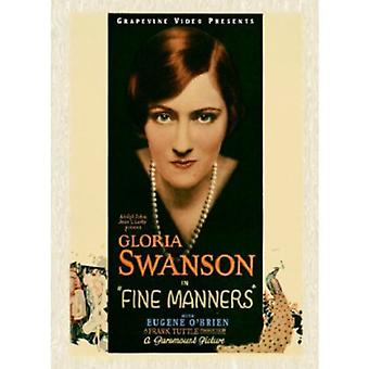 Fine Manners 1926 [DVD] USA import