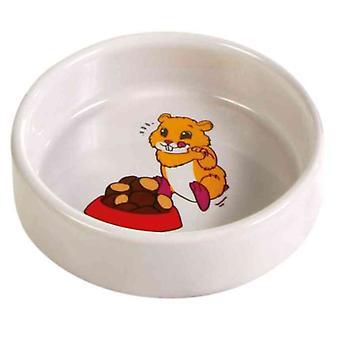 Trixie Seramik Kase Gıda / Su (Küçük evcil hayvanlar , Kafes Aksesuarları , Gıda ve Su Sebilleri)