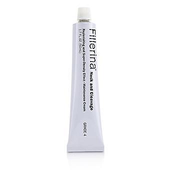 Fillerina Neck & Cleavage Replenishing & Super-Density Effect - Maintenance Cream - Grade 4 50ml/1.7oz