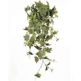 110cm Luxury Frosted Ivy Bush for Floristry Crafts - Artificial Foliage