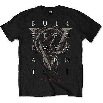Bullet för min Valentine V för Venom officiella Tee T-shirt Mens Unisex
