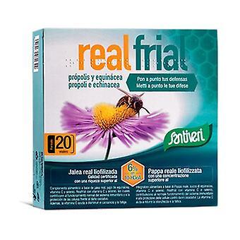 Realfrial propolis echinacea 20 vials (Honey)