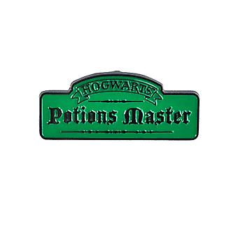 Harry Potter Pin Badge Hogwarts Potions Master Logo new Official Green Metal