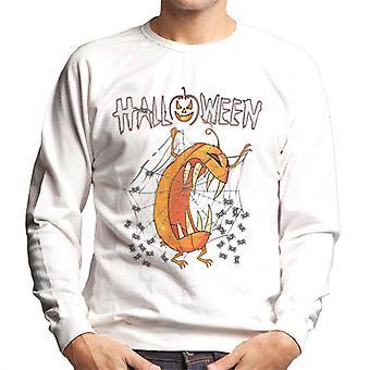 Monster Halloween Gresskar Menn's Sweatshirt