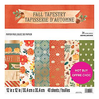 Craft Smith Fall Tapestry 12x12 Inch Paper Pad