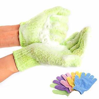 Masáž body resistance houba exfoliační rukavice pro sprchu - kůže hydratační lázeňská pěna