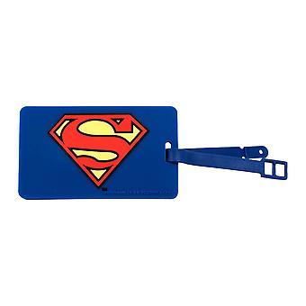 Bagage Tag - DC Comics - Superman Logo Ny Licenseret dcc-0210