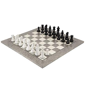 أبيض وأسود الأطلسي العقدة مجموعة الشطرنج