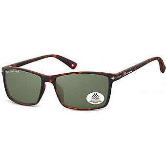 Sunglasses Unisex by SGB Brown/Green (Turtle) (MP51)
