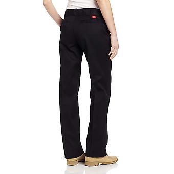 Dickies Women's Original Work Pant with Wrinkle And Stain Resistance,Black,20...
