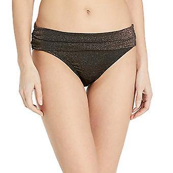Kenneth Cole Nueva York Mujeres's Shirred Banda Hipster Bikini Bañador Inferior,...