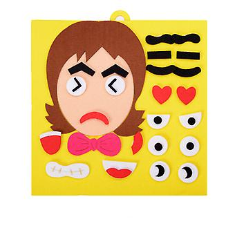 30cm*30cm Creative Facial Expression - Educational Puzzle Toy