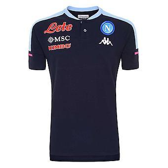 2020-2021 Napoli Polo Shirt (Deep Blue)