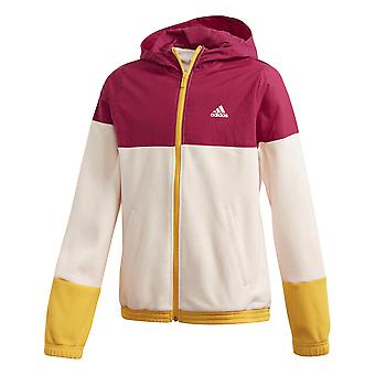 Adidas Girls Classics Hooded Track Jacket
