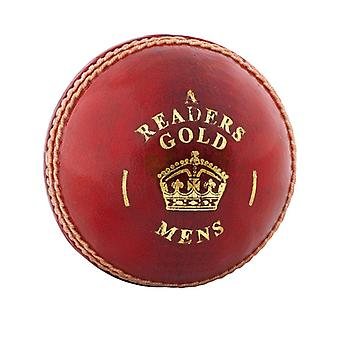 Readers Gold 'A' Cricket Ball - Mens
