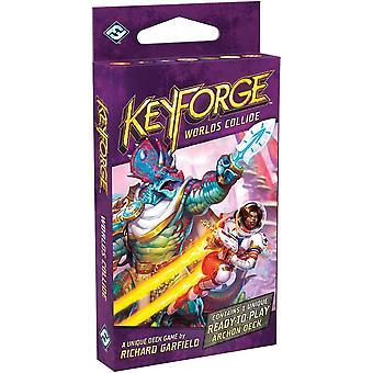 KeyForge Worlds Collide Deck Display (12 eenheden)