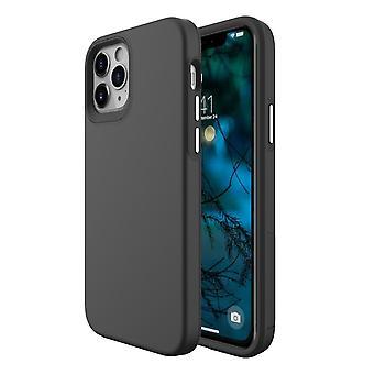 Für iPhone 12 Pro/12 Gehäuse, stoßfeste Schutzhülle Schwarz