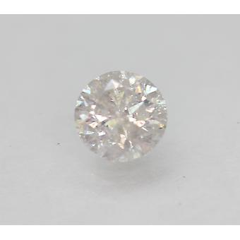 Certified 0.58 Carat G SI2 Round Brilliant Enhanced Natural Loose Diamond 5.15mm