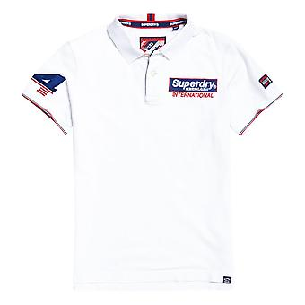 Superdry Superstate Champion Polo Shirt - Optic White