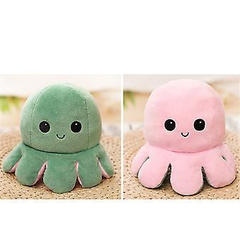 Reversible Stuffed Plush Octopus Shape Doll (20 X 20 X 10cm)