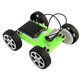 Mini Solar Diy Car Kit-educational Gadget