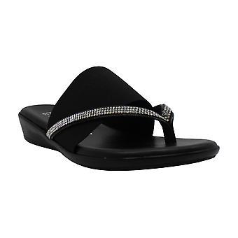 ITALIAN Shoemakers Women's LUXI Sandal, White, 8 Medium US