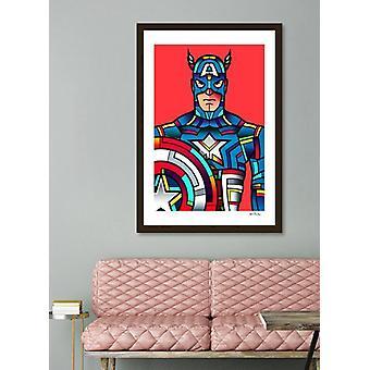 Captain America Rahmen