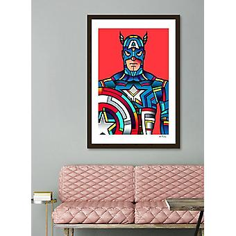 Captain America Frame