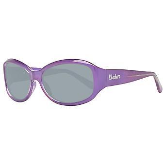Paarse zonnebrillen