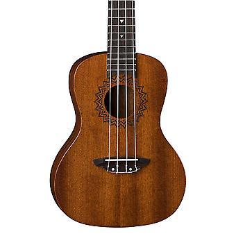 Luna concert acoustique ukulele vintage sac en acajou avec tuner et sac