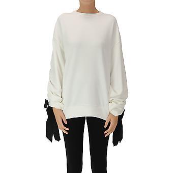 Dries Van Noten Ezgl093196 Women's White Cotton Sweatshirt