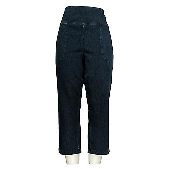 Wicked by Women with Control Women's Jeans Prime Stretch Crop Blue A377542