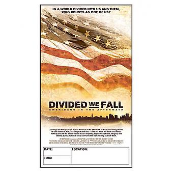 Divided We Fall Americans in the Aftermath Movie Poster Print (27 x 40)