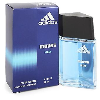 Adidas Moves Eau De Toilette Spray By Adidas 1 oz Eau De Toilette Spray