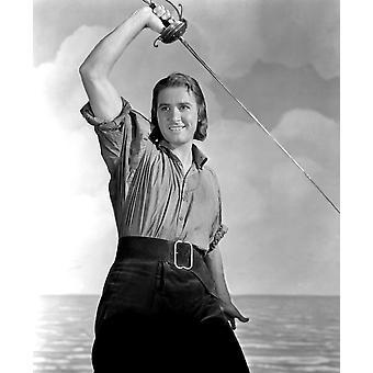 Impressão de fotos do Capitão sangue Errol Flynn 1935