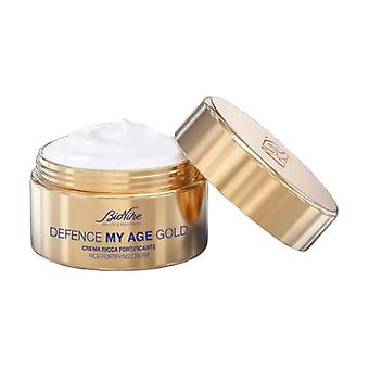 Defense My Age Gold - Rich Fortifying Cream 50 ml of cream